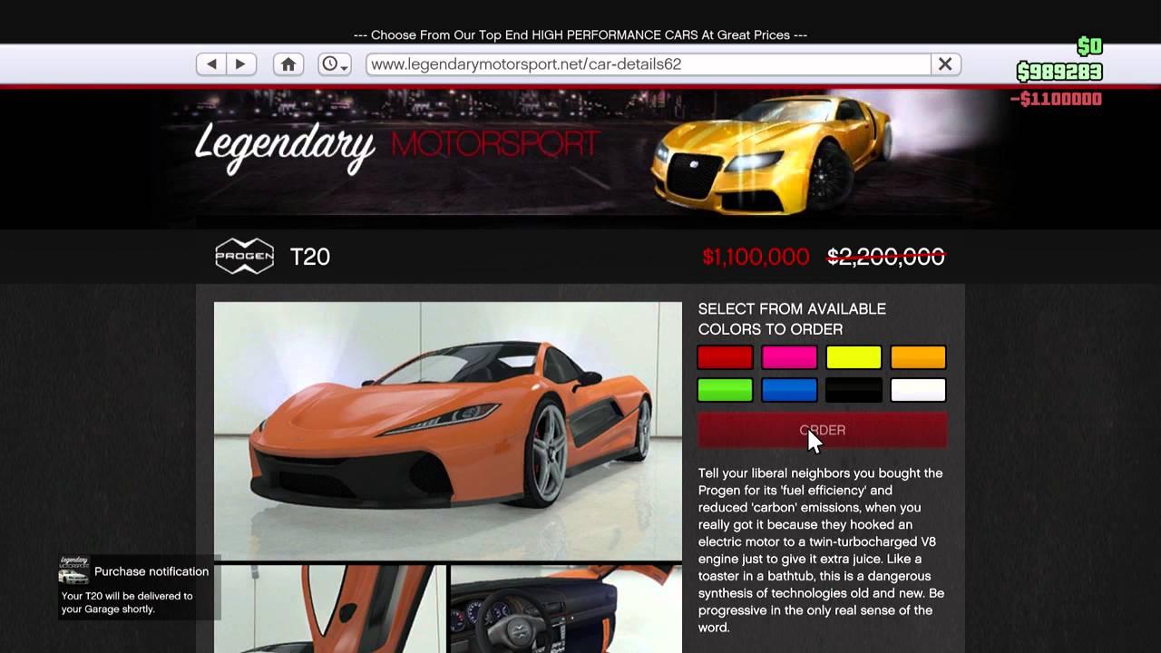 Gta Supercar Half Price Week Youtube