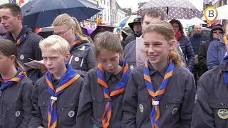 Koningsdag 2019 Elburg in vogelvlucht