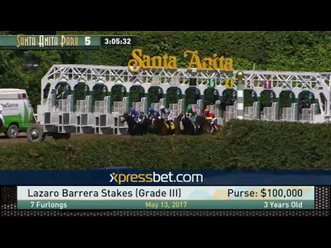 Lazaro Barrera Stakes (Gr. III) - May 13, 2017