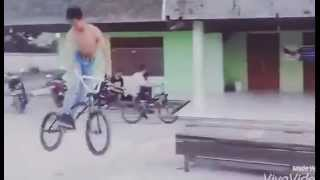 How To Bmx Drop 180 From Aprianus Tuak