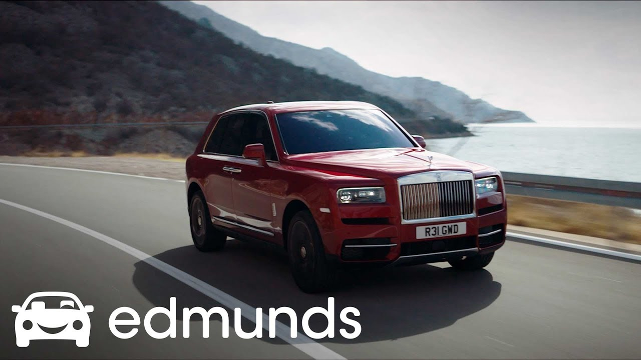 2019 Rolls Royce Cullinan First Look Edmunds Youtube