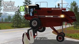 MOD FIATAGRI LAVERDA 3550AL #218 - FARMING SIMULATOR 17 GAMEPLAY ITA