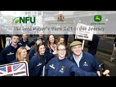 Lord Mayor's Show 2014: NFU takes the Back British Farming campaign to London