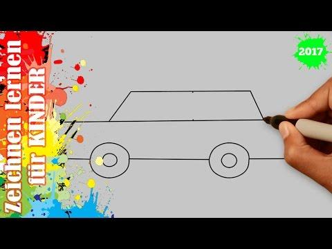 Auto zeichnen 6 für anfänger & kinder in 50s