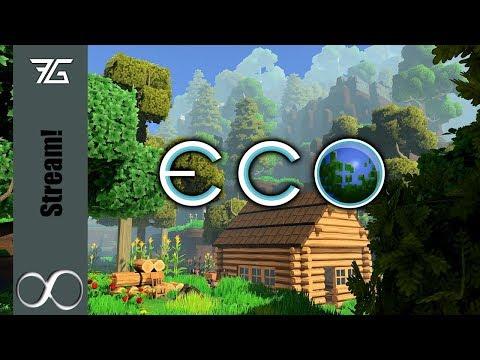 Eco - Bigger World Multiplayer Modded