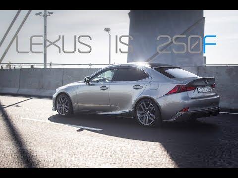 2014 Lexus IS 250 Fsport: Sonic Titanium At Saint-Petersburg | SB MEDIA