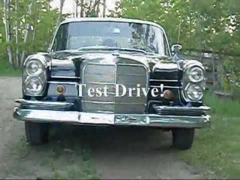 test drive 1966 mercedes benz 230s youtube. Black Bedroom Furniture Sets. Home Design Ideas