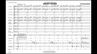 Night Fever arranged by Paul Murtha