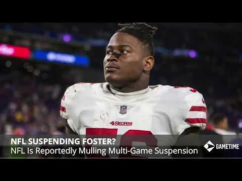 49ers Rumors: Reuben Foster Suspension, Honoring Dwight Clark, And Trent Taylor Injury - 동영상