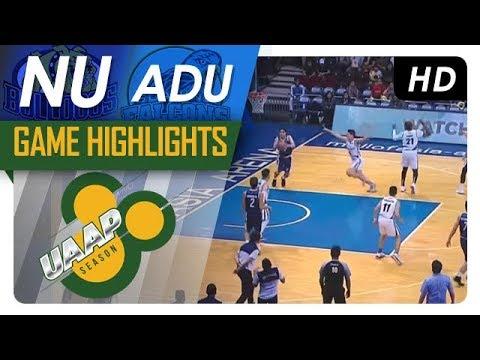 AdU vs. NU | Game Highlights | UAAP Season 80 Men's Basketball | Oct. 29, 2017