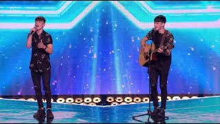 Sean & Conor Price: Brothers Get A Seat After a Tough Challenge! The X Factor UK 2017