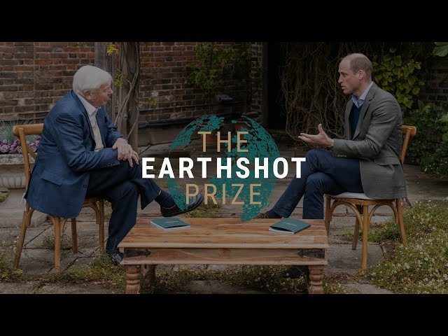 10 YEARS TO REPAIR OUR PLANET: Prince William, Sir David Attenborough & The Earthshot Prize Council