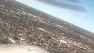 Flight from KPWK to KLOU-Cessna 172 G1000 with ATC