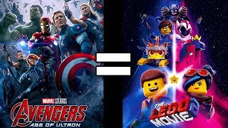 24 Reasons Avengers: Age of Ultron & The Lego Movie 2 Are The Same Movie