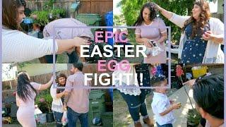 epic easter confetti egg fight sabrinachristine 2017