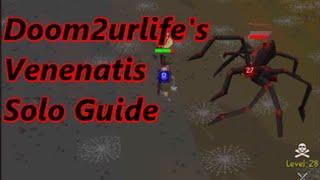 Old School RuneScape Venenatis Solo Guide (with Commentary)
