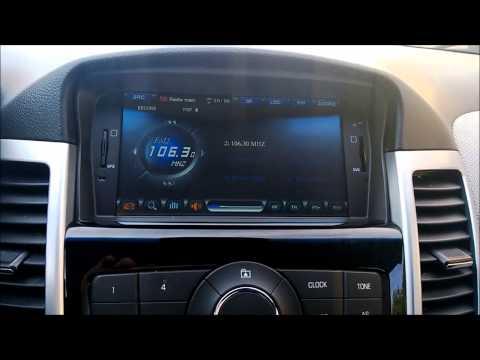 Установка автомагнитолы на Chevrolet Cruze