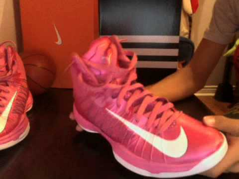 competitive price a7d49 9708c Nike HyperDunk 2012 Performance Review - Think Pink Edition - YouTube