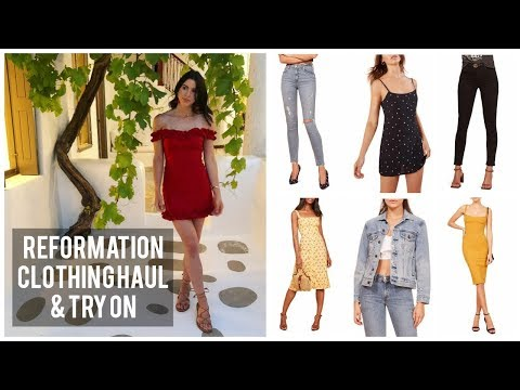 REFORMATION CLOTHING HAUL & TRY ON