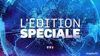 TF1 - Interruption des Programmes du 6 Décembre 2017 à 04h58 (Mort de Johnny Hallyday) [HD]