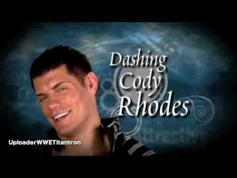 """Dashing"" Cody Rhodes 7th Theme Song ""Smoke & Mirrors"""