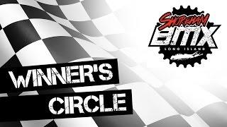 Take ride into the Winner's Circle at Shoreham BMX