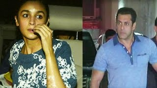Salman Khan rushed to Alia Bhatt's help after she got burnt from crackers  during performance.