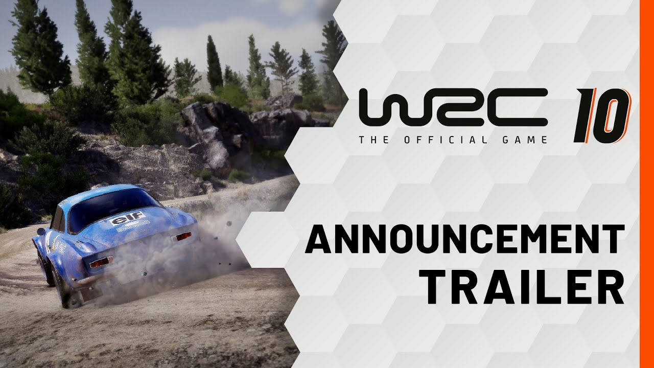 WRC 10 | Announcement Trailer