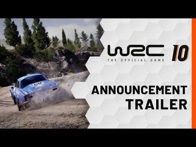 WRC 10 (видео)