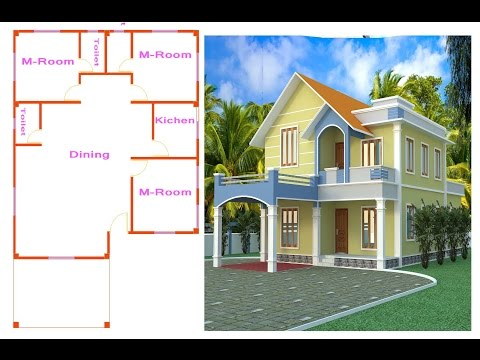 Autocad Bangla Tutorial ( Duplex house part-1 )  কনটাক্ট ফর