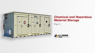 Chemical and Hazardous Material Storage pt1