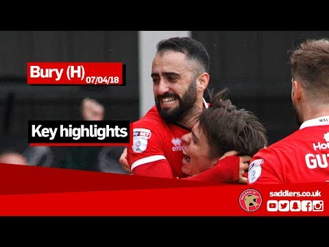 MATCH HIGHLIGHTS | Walsall 1-0 Bury