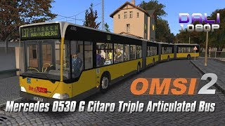 OMSI 2 - Mercedes-Benz O530 GGG Citaro Tri-Articulated Bus (3 Gelenke)