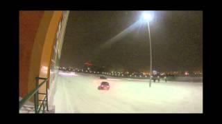 Вечерний Барнаул. Parking Drift [GoPro 3]