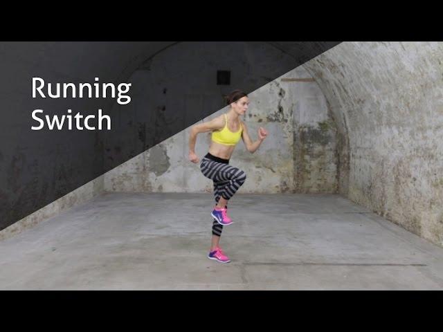Running Switch - hoe voer ik deze oefening goed uit?