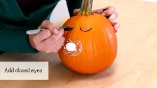 Quick and Easy Pumpkin Craft: Binky Babies