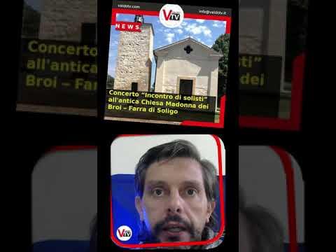 """#shorts   Concerto """"Incontro di solisti"""" all'antica Chiesa Madonna dei Broi – Farra di Soligo"""