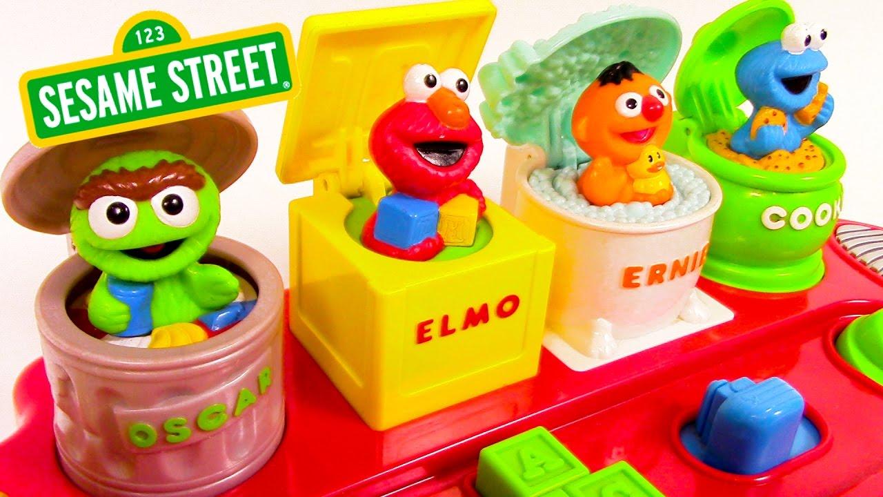 Sesame Street Characters Elmo Sesame Street Games Ernie Oscar Cookie Monster