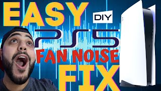 NOISY PS5 FAN FIXED! EASY DIY WALKTHROUGH PLAYSTATION 5 FAN SOUND FIX!