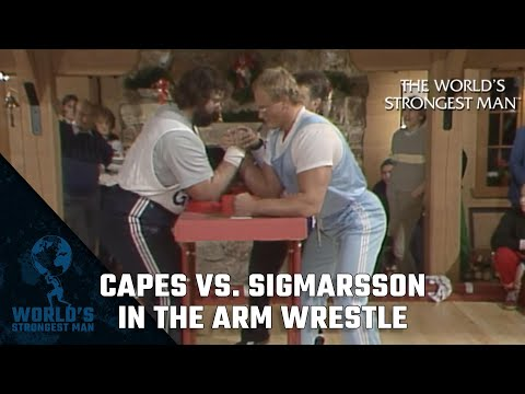 The World's Strongest Man Classics: Capes vs Sigmarsson in the Arm Wrestle 1984: The King is Dead!