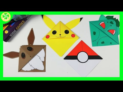 How to make a Pikachu Bookmark | DIY Bookmarks (tutorial) from YouTube · Duration:  3 minutes 41 seconds