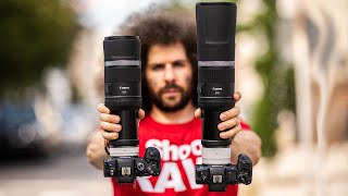 CANON's 2 WORST LENS IDEAS EVER? RF 800mm / 600mm F11 REVIEW