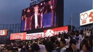 2013神宮開幕戦オープンセレモニー 秋川雅史さん(国歌独唱)