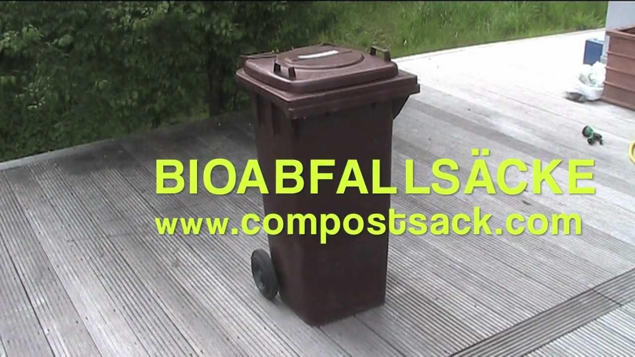 bioabfalls cke f r die biotonne youtube. Black Bedroom Furniture Sets. Home Design Ideas
