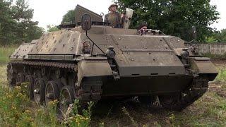 Panzer fahren! Jaguar 2 Jagdpanzer Perleberg Oldtimer Treffen 2015 Teil 1