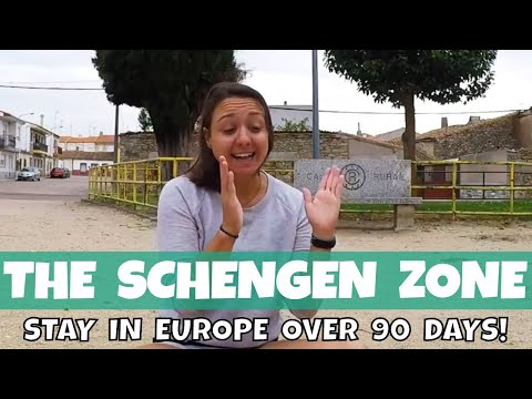 What is the SCHENGEN ZONE & How I Choose Where to Travel (long term)  //  049
