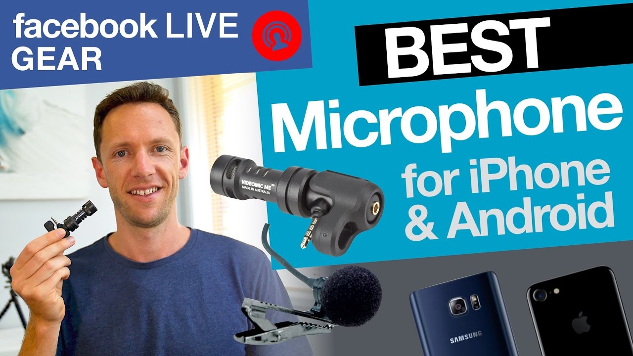 Facebook Live Stream Gear: Best Microphone for iPhone & Android!