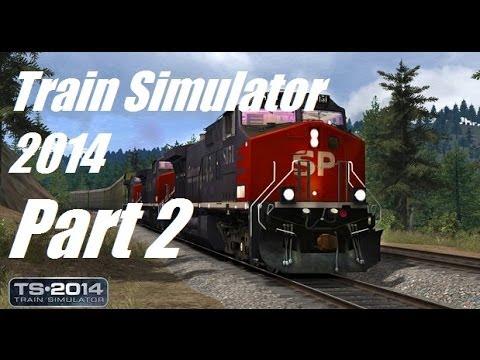 Let's Play Train Simulator 2014 - Part 2 - Saskatchewan Potash