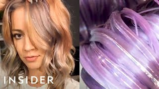 These Glitter Hair Extensions Let You Get The Look Without The Mess