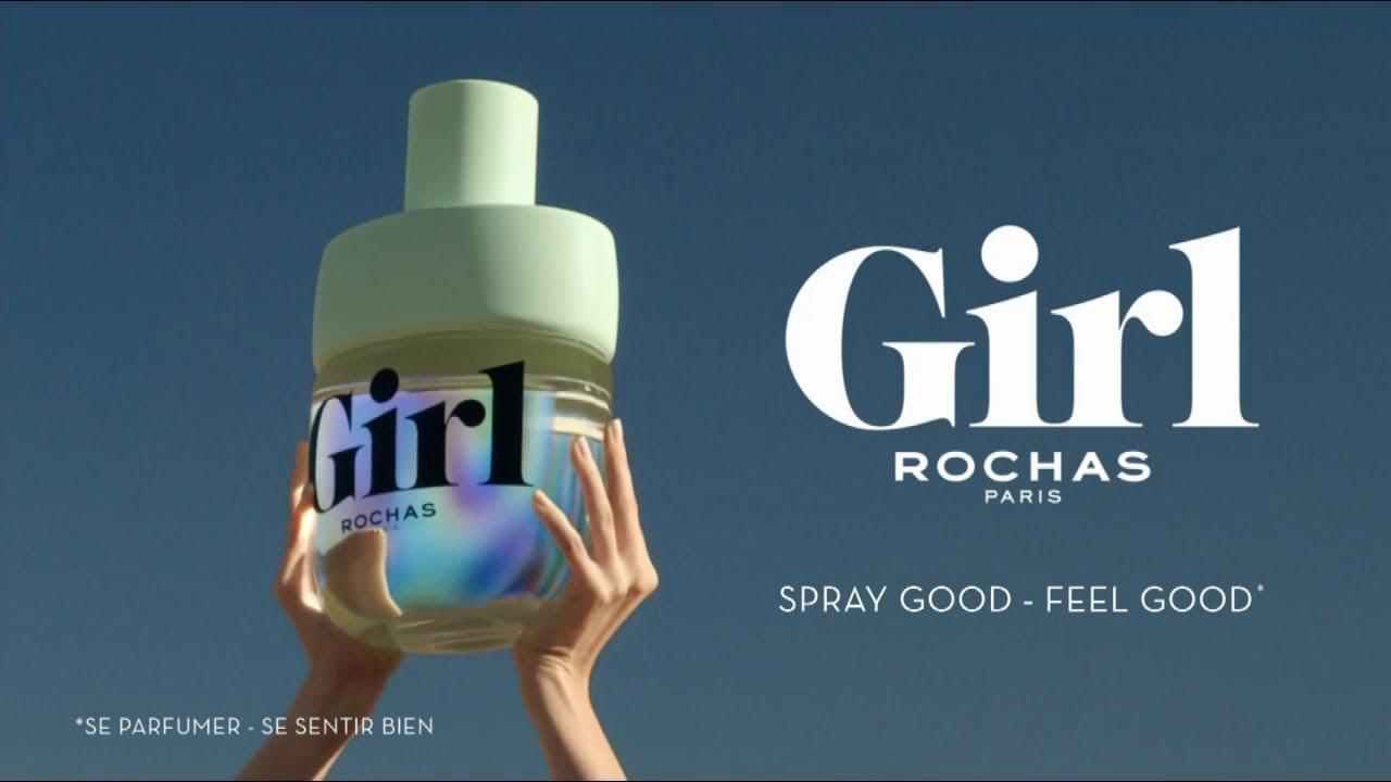 """Musique de la pub Le nouveau parfum Girl Rochas Paris """"spray good feel good""""  2021"""